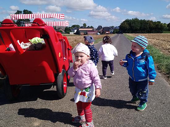 Ausflug mit der Kindertagesstätte (KITA) von Jessica Thomas (va. Tagesmutter) aus Baesweiler bei Aachen