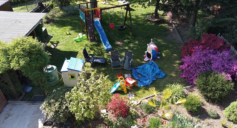 Großzügiger Garten für die Kinder unserer KITA in Baesweiler bei Aachen