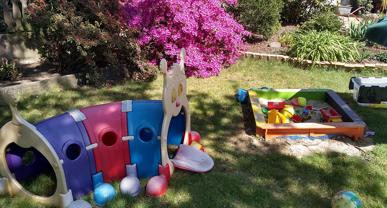 Spielmöglichkeiten unserer Kindertagrspflege (KITA) in Baesweiler bei Aachen