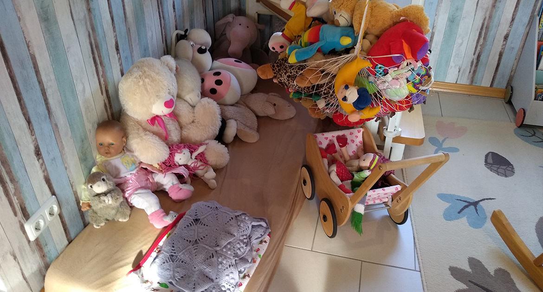 Kuschelecke unserer Kindertagesstätte (KITA) in Baesweiler