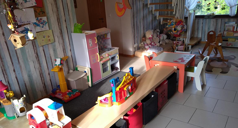 Spielzimmer unserer Kindertagesstätte (KITA) in Baesweiler