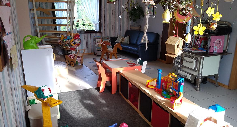 Spielzimmer der KITA und Kindertagespflege